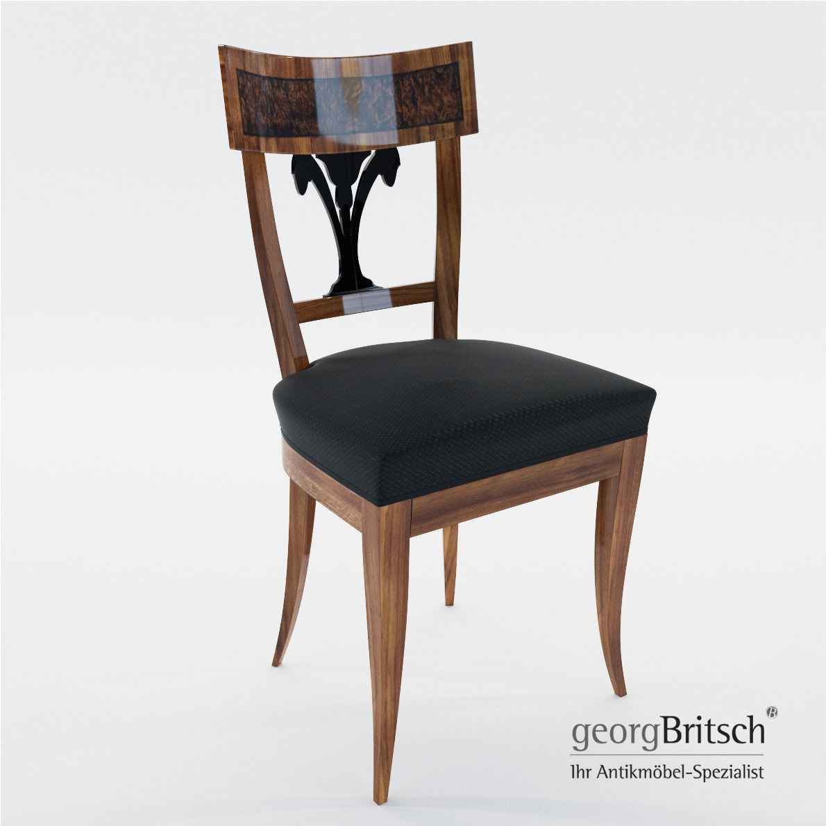 Biedermeier Chair   South Germany   Munich 1815   Georg Britsch 3d Model  Max Obj Mtl ...