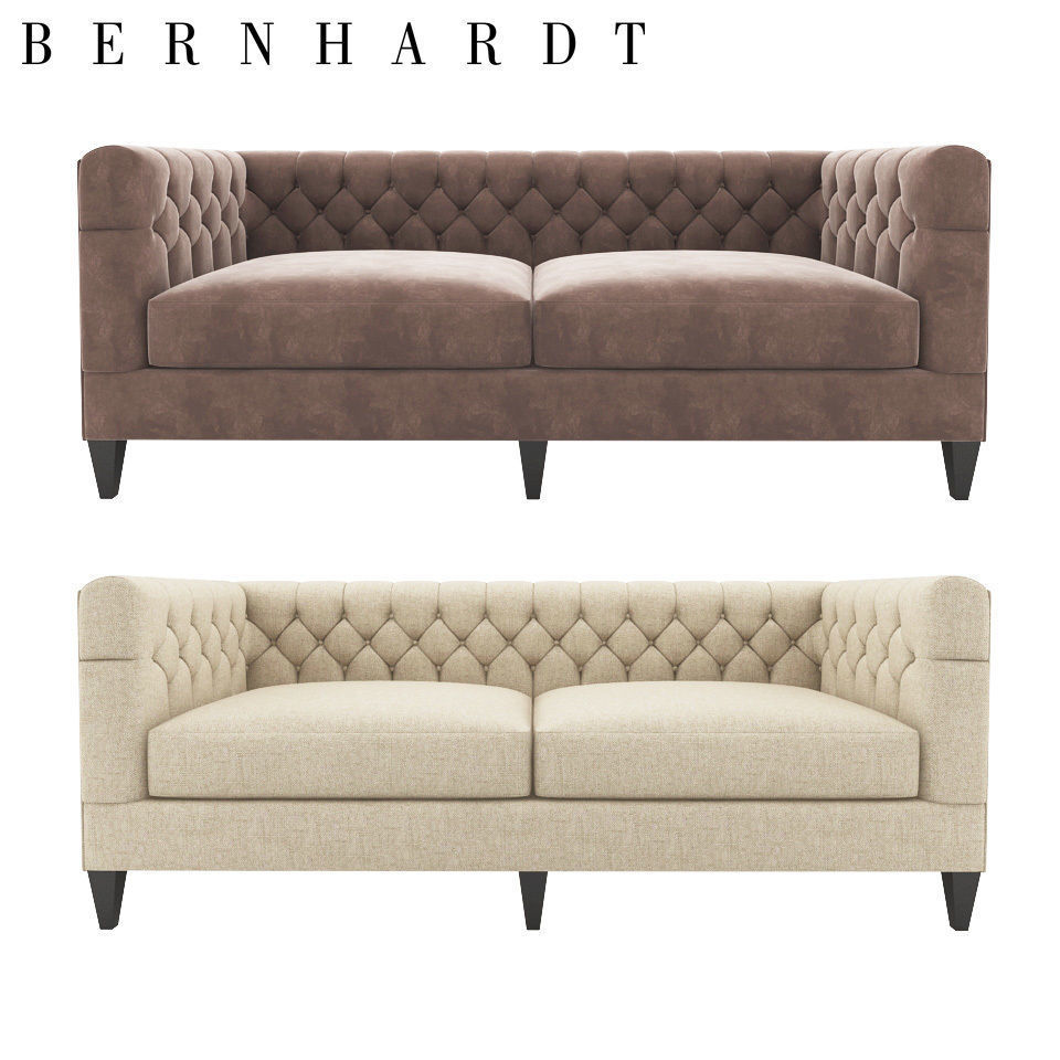 Awe Inspiring Beckett Sofa Bernhardt 3D Model Download Free Architecture Designs Rallybritishbridgeorg