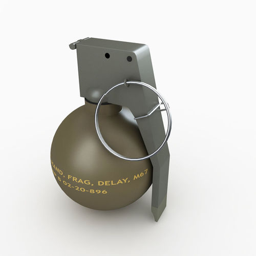 M67 Hand Grenade | 3D model