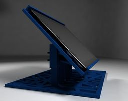 3d printable model ipad holder