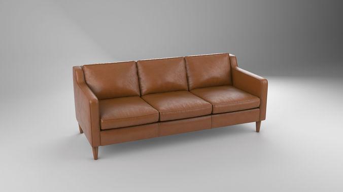 Hamilton Sofa Cgtrader