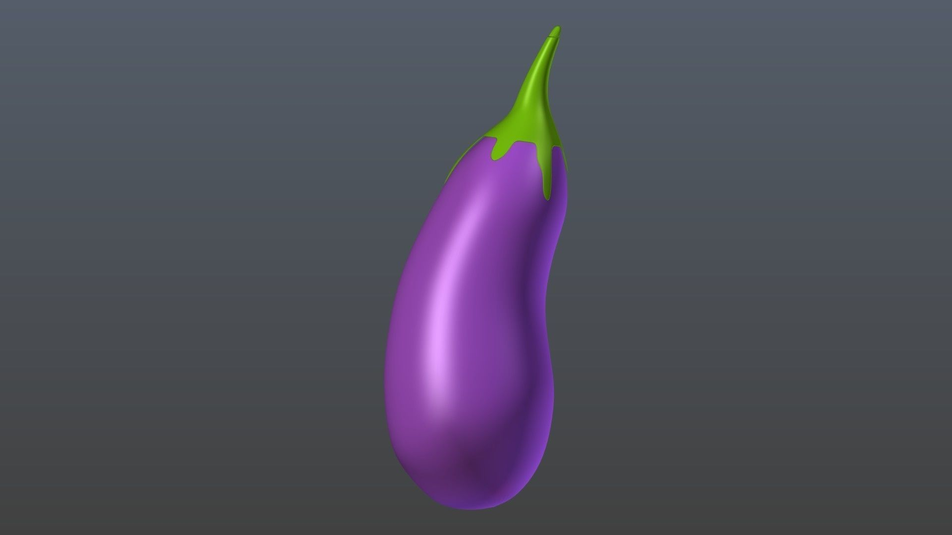 3d eggplant | cgtrader