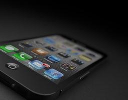 Photorealistic iPhone 3D model