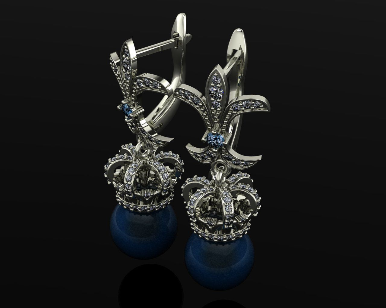 Earrings Prince Persy