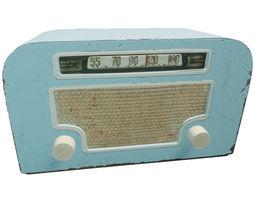Vintage radio 3D model realtime