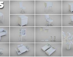 3D model Basic Furniture Pack
