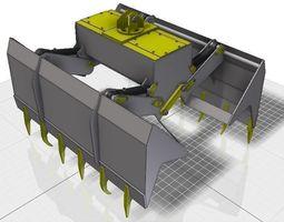 3d printable model garra - grapple