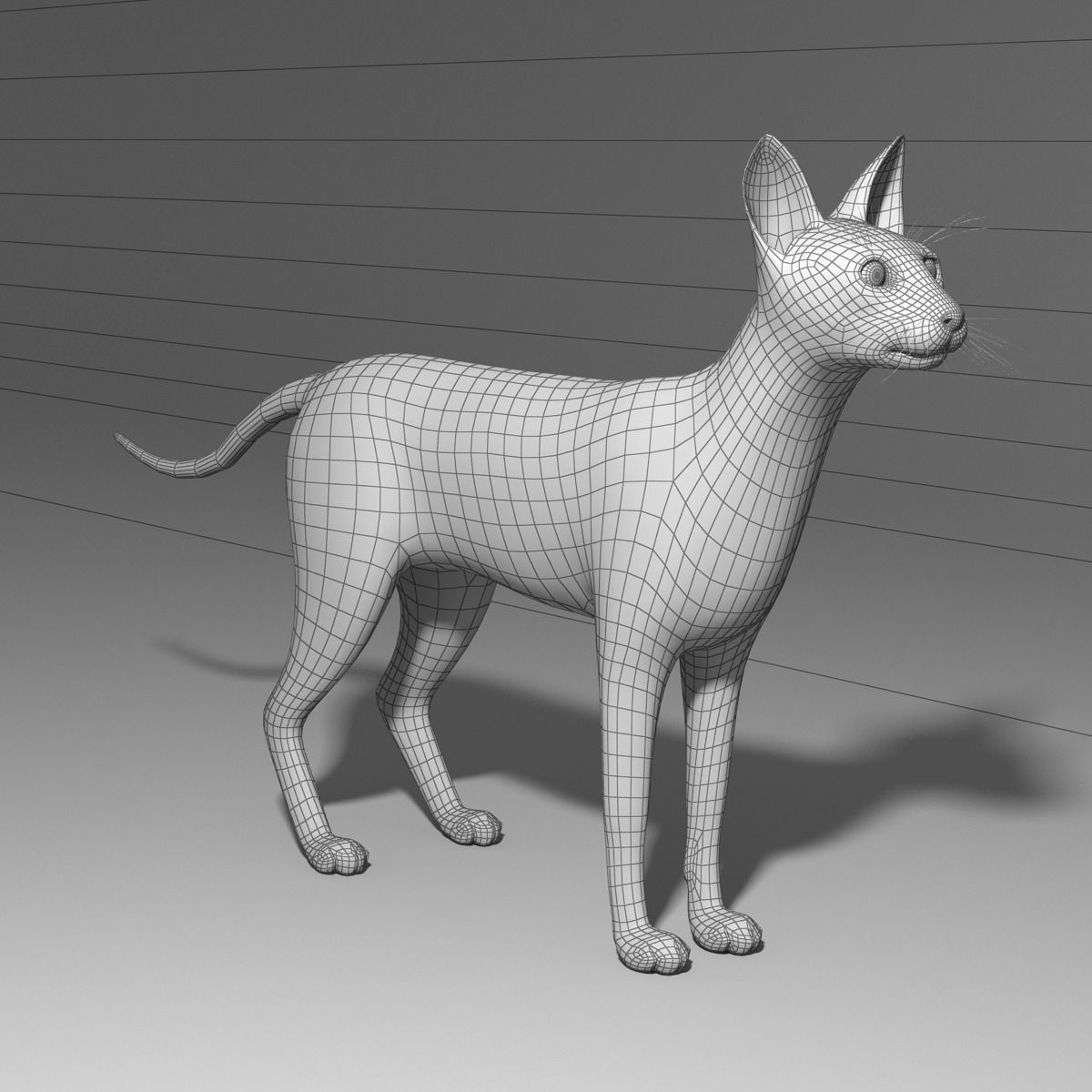 siamese cat 3d model - photo #27