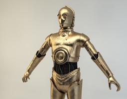 Starwars C-3PO 3D