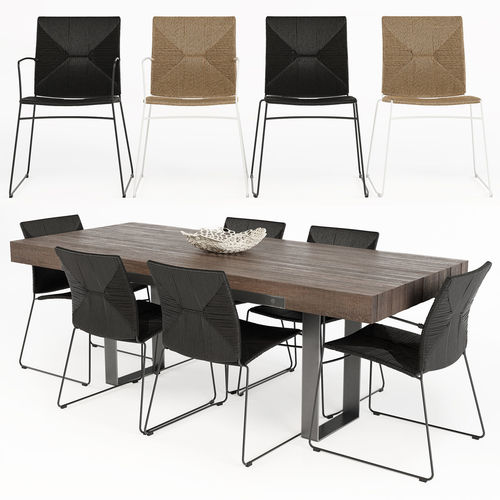 3d Wayfair Dining Table Cgtrader