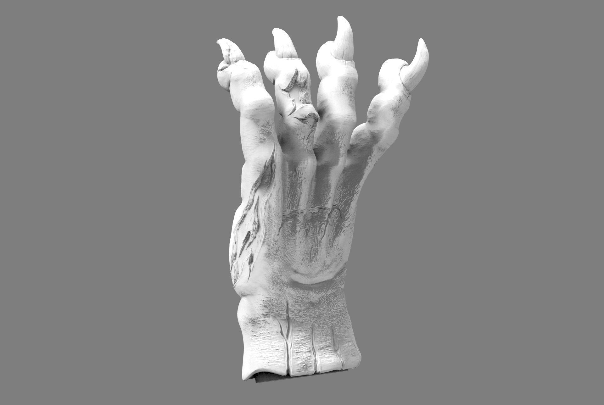 demon beast hand