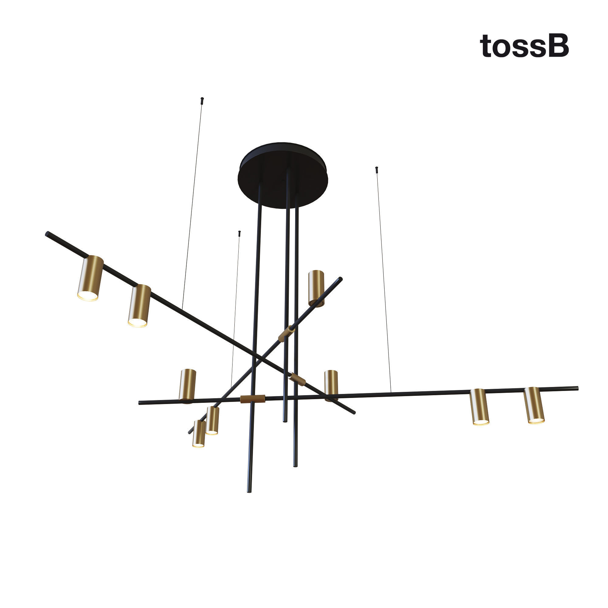 TossB Tribes Chandelier
