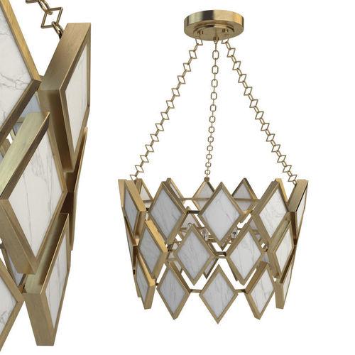 3d model robert abbey edward pendant in modern brass 2 aloadofball Gallery