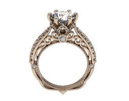 3D printable model popular ring