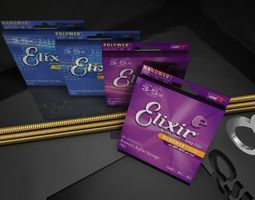 3D Elixer Guitar Strings