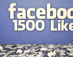 3D FaceBook Likes