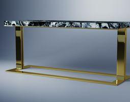Corridor Table 3D model