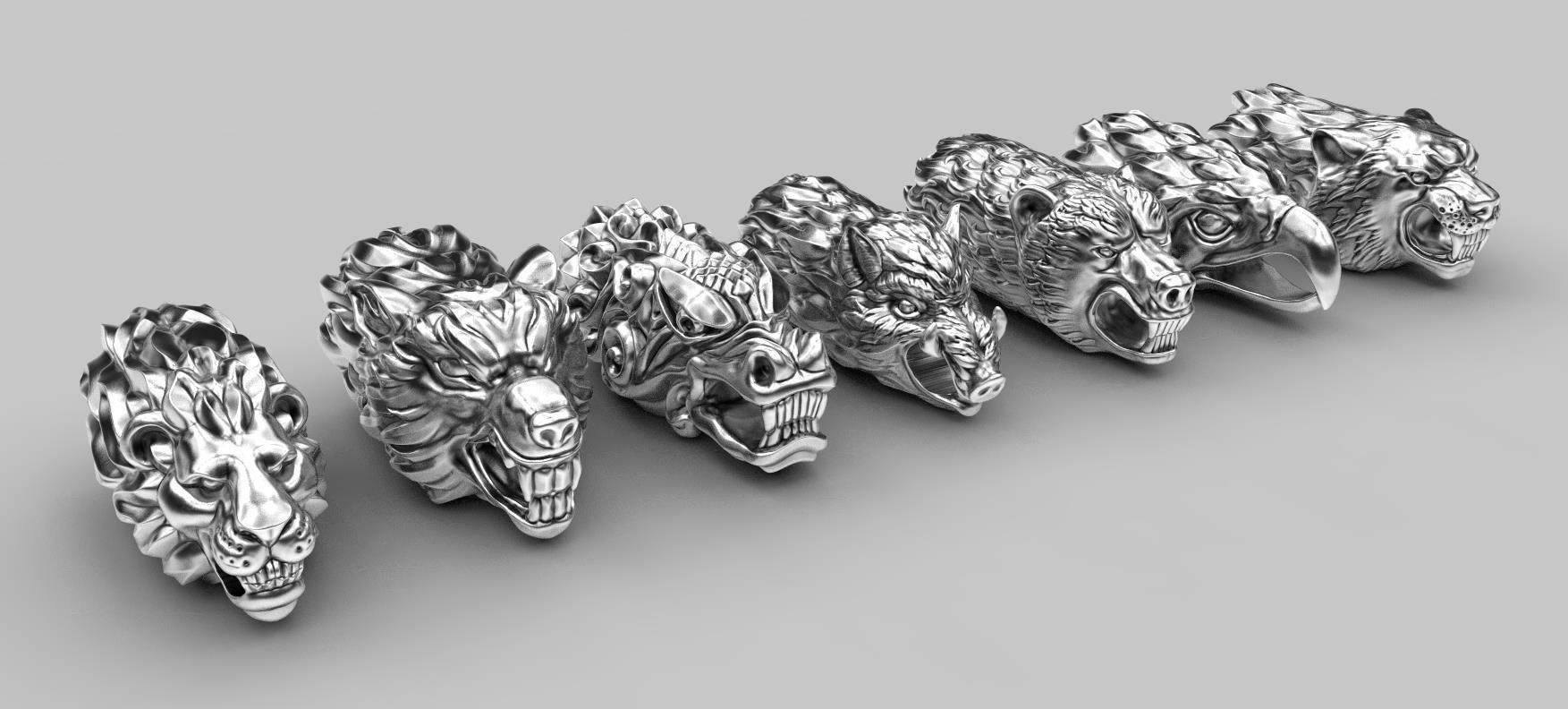 End pieces for bracelets 2
