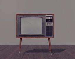 3D Vintage Tv