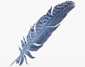 Feather 3D model game-ready