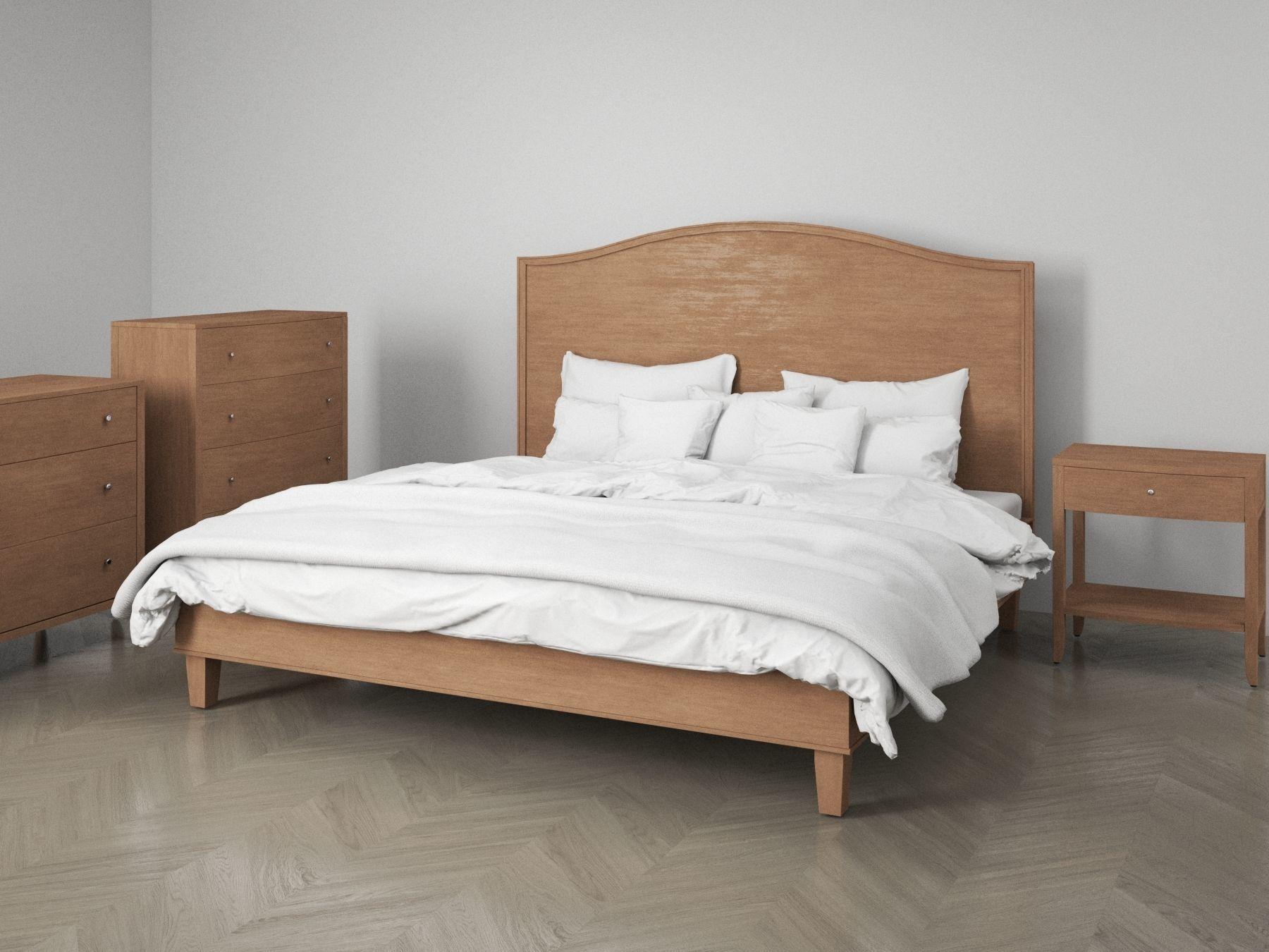 Bedroom Furniture Set Classic | 3D model
