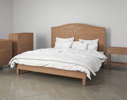 Bedroom Furniture Set Classic 3D model