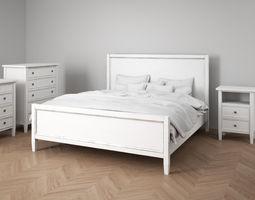Bedroom Furniture Set Vintage 3D model