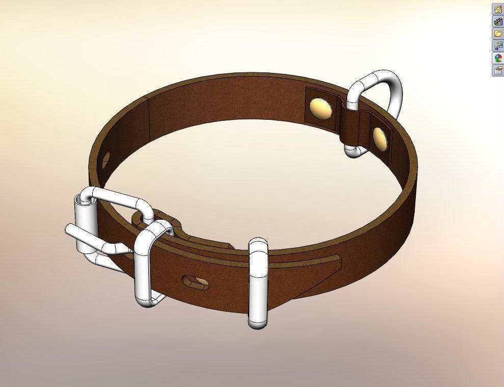 Collar 3d model