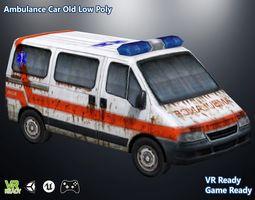 Ambulance Mini Truck 3D