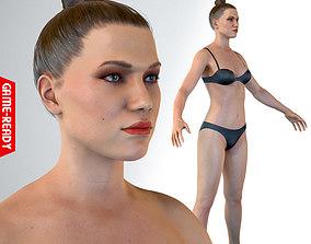 3D model Average Female Body