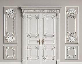 3D model Classic Interior Decor 2