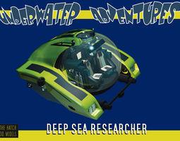 3D Deep Sea Research minisub
