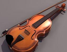 3D music VIOLIN