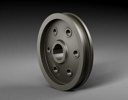 Pulley pump 2 3D model