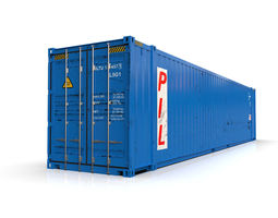 45 feet High Cube PIL shipping container 3D
