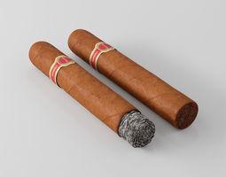 3D Cigar Dunhill Cabinetta