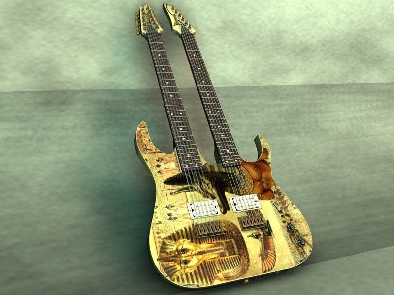 Ibanez Double Neck guitar