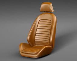 3D model seatchair Car seat
