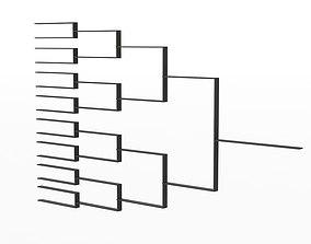 Tournament Bracket 3D