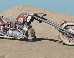 3D asset Punk Rock Bike