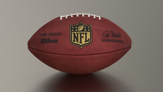 9ab63cab6 Official American NFL Football 3D