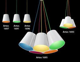 TK Lighting Artos 3D model