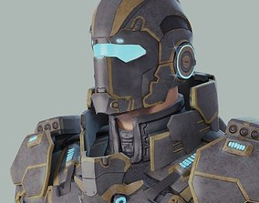 3D model Sci-Fi Hero