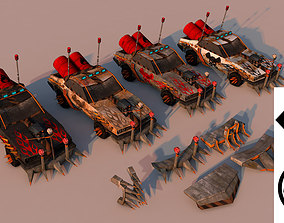 Battle Car 2 3D model