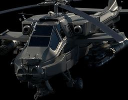 apache Apache Helicopter 3D model