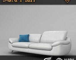 3D asset Ohio Sofa