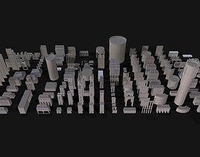 Medieval Kitbash Set 3D asset low-poly