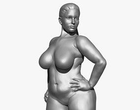 Curvy Female 3D model