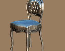 baroque 3d 3D model Baroque chair