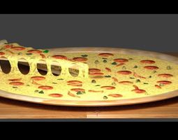 3D PizzafromPapaJohn